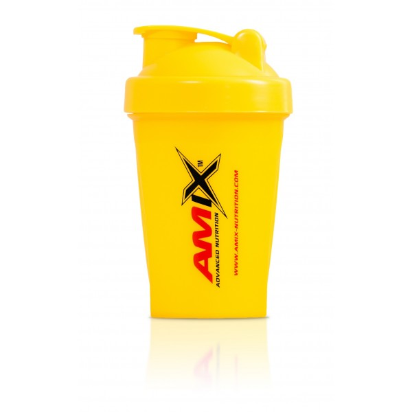 Amix Nutrition Amix šejkr Color 400 ml - žlutá.