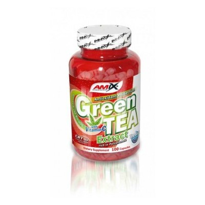 Amix Green Tea Extract with Vitamin C 100 tablet