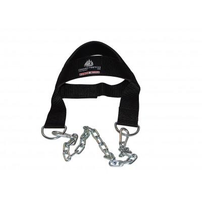 Nylonová helma na posílení krčních svalů