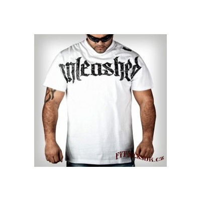 Rage tričko Unleashed white