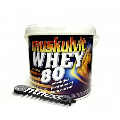 Muskulvit whey 80% 2kg