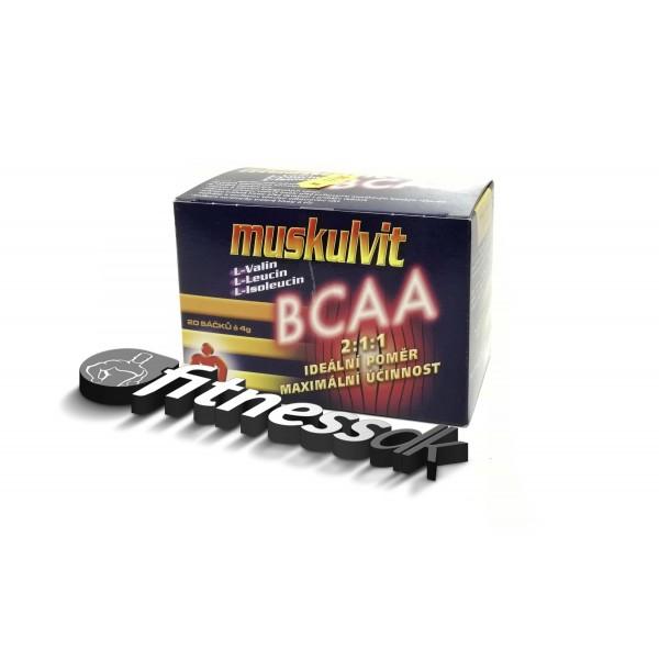 Muskulvit BCAA 4g 20 sáčků.
