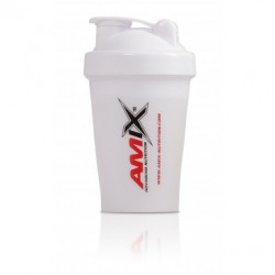Amix Nutrition Amix šejkr Color 400 ml - bílý
