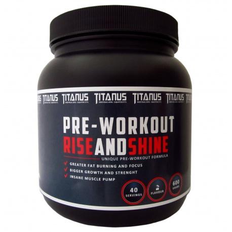 Pre-workout Titánus RISEandSHINE