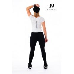 Nebbia Reflexní tričko 271 - bílý