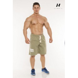 Nebbia Šortky Fitness 923 - olivové