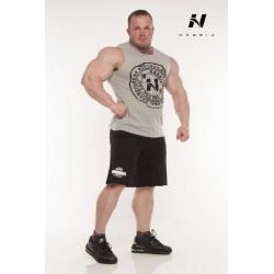 Nebbia Šortky fitness hard 943(světle šedá)