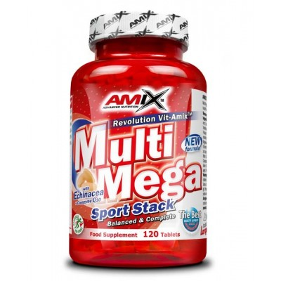 Amix - MultiMega Stack - 120 tablet.