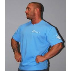 Pánské triko Bizon Gym - světle modré ( 3stars )