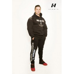Nebbia Pánska mikina Bodybuilding 991 - černá