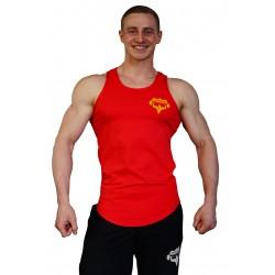 Tílko SUPERHUMAN 1 - červené/bílé
