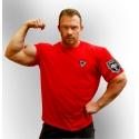 Bizon Gym Triko 219 - červená