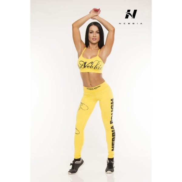 Nebbia Tílko supplex mini 812 - žlutá