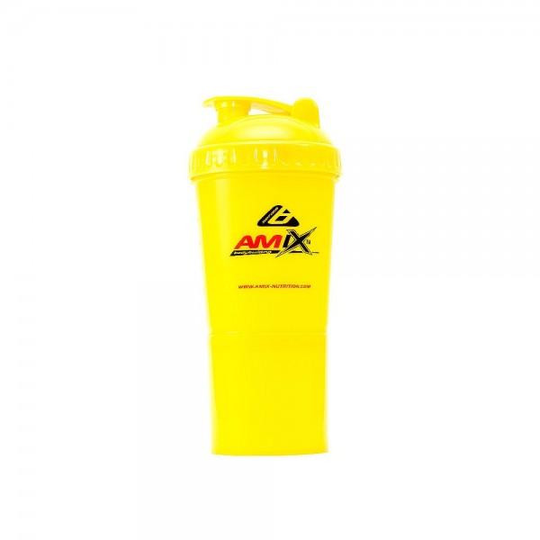 Amix Nutrition Amix Shaker Monster Bottle Color 600 ml - oranžová.