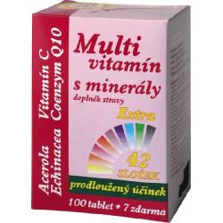 Multivitamín s minerály 42 složek 107tbl