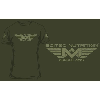 Scitec Nutrition Muscle army green