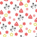 Vánoční balící papír fitness - Ladies