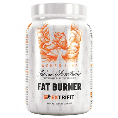 Extrifit Fat Burner Women Line - 100 kapslí