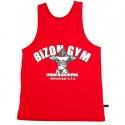 Bizon Gym Tílko 404 - červená
