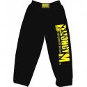 Bizon Gym Tepláky 109 - černá/žlutá