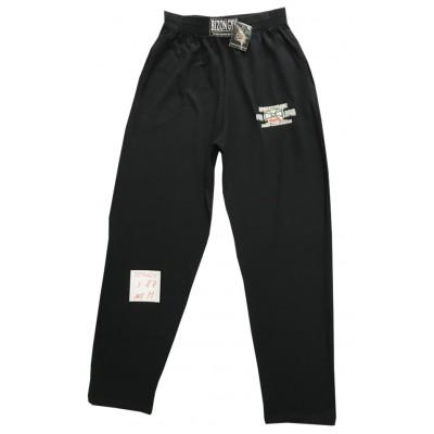 Černé tepláky s malým logem na nohavici velikost M