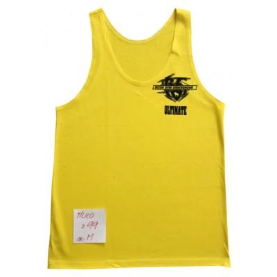 Žluté tílko s motivem velikost M