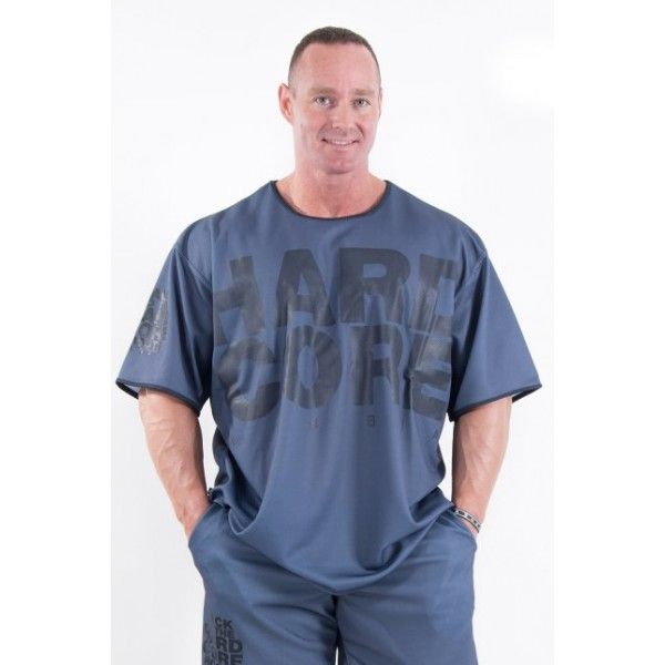Nebbia HardCore tričko 303 - šedá