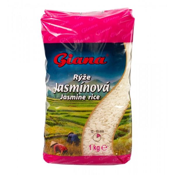 Rýže Jasmínová 1 kg Giana