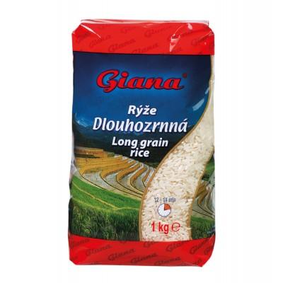 Rýže Dlouhozrnná 1 kg Giana