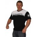 Bizon Gym Triko 209 - černá/bílá