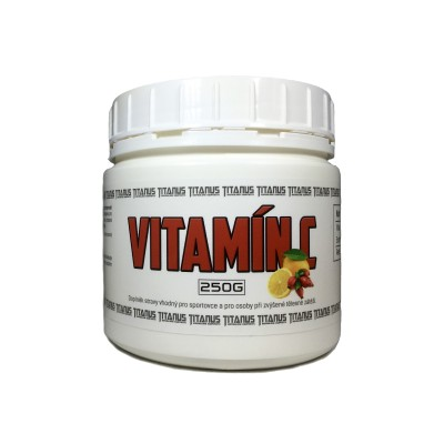 TITANUS_Vitamin_C_s_sipkem_250g