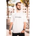 Feeney bílé tričko ROOTS