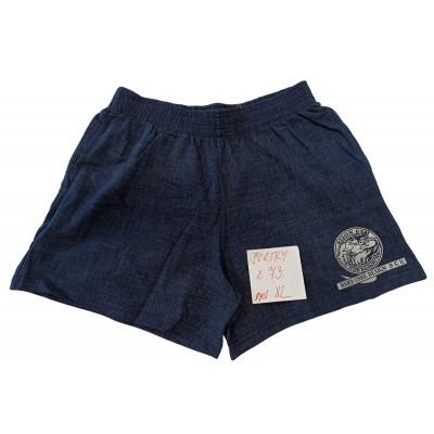 Modré šortky s šedým motivem velikost XL