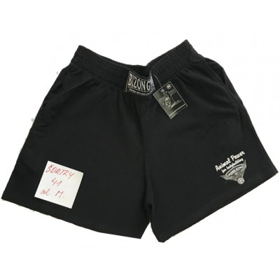 Černé šortky s malým logem velikost M