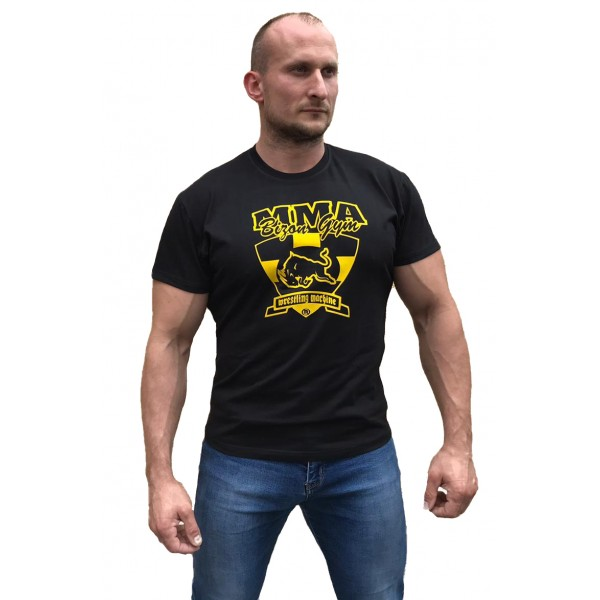 Černé triko MMA