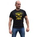 Bizon Gym Triko 238 - černá/žlutá