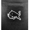 Černé triko MMA - bílý nápis