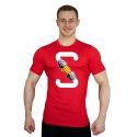 Tričko Superhuman S-FIST - červená