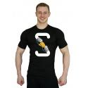 Tričko Superhuman S-FIST - černá