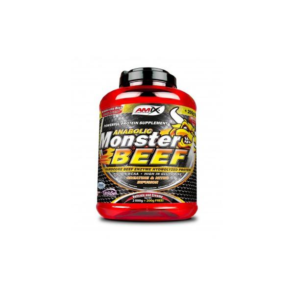 Amix nutrition Monster Beef protein 1000 g. EXPIRACE 2/2021 - vanilka limetka