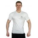 Tričko Superhuman s nápisem - bílá/černá