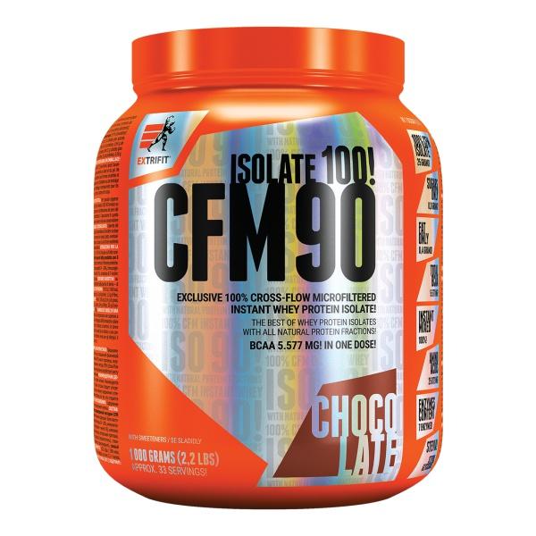 EXPIRACE EXTRIFIT CFM90 Isolate 1kg čokoláda