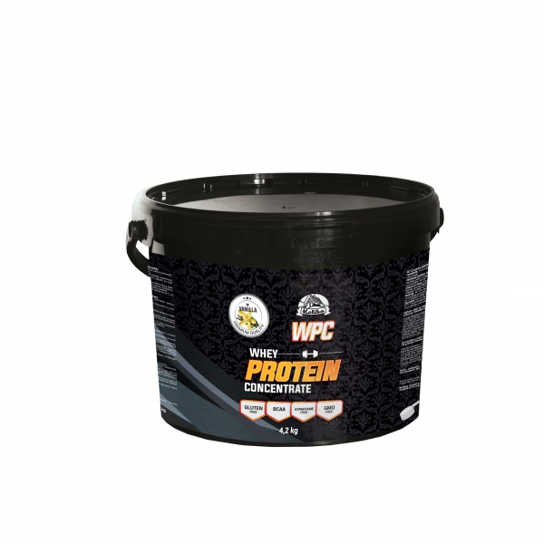 KOLIBA WPC protein 4,2 kg vanilka
