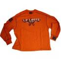 Legal power mikina 2429-864 - oranžová