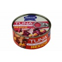 Nekton - Tuňák kousky se zeleninou MEXICO 170g