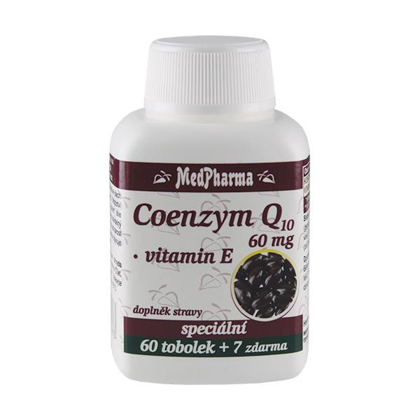 MedPharma Coenzym Q10 60 mg, 67 tobolek