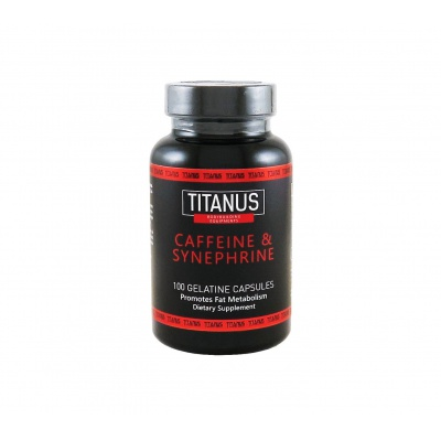 TITANUS Caffeine & Synephrine (100 kapslí)
