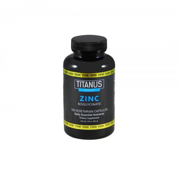 TITANUS Zinek Bisglycinát (100 kapslí)