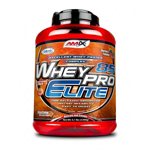 Amix nutrition Whey Pro Elite 85 2300g EXPIRACE 09.2021