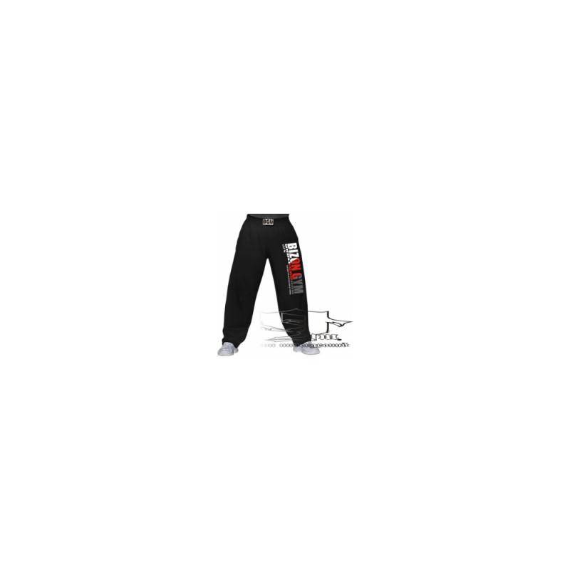 Bizon Gym tepláky s bílo-červeným nápisem 0529796817
